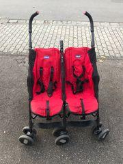 Gebrauchte Zwillinge Kinderwagen von Chico
