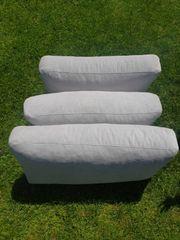3 Polster Kissen für Couch