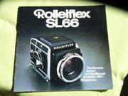 Rolleiflex SL 66 Broschüre