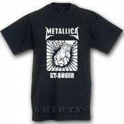 T-Shirt mit Design Metallica