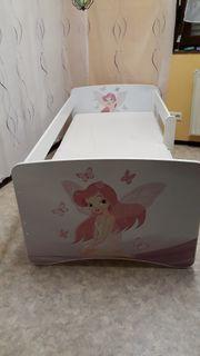 Kinderbett mit Schubladen und Rausfallschutz