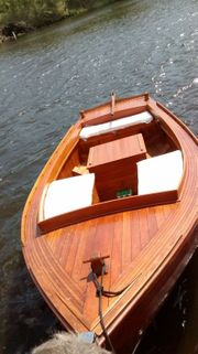 Holzboot Rarität Daycruiser
