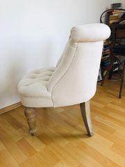Sehr schöne Sessel cremeweiss