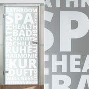 NEU Modern Glastür für Bad