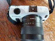 Canon EOS M mit extra