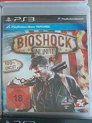 Verkaufe PS3-Spiel Bioshock infinite