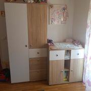 Kinderzimmer Schrank wickelkommode