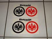 4 x Eintracht Frankfurt Aufkleber