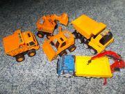 Baustellenfahrzeuge Autos
