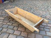 Holzschale Futterbehälter Bepflanzung Pflanzenkübel Deko