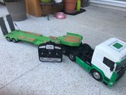 Tamiya Scania inkl Tieflader Fernbedienung
