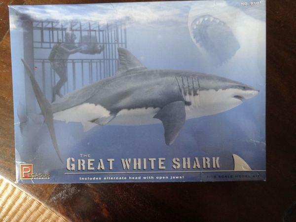Modellbau Weisser Hai White shark