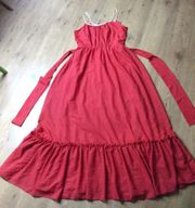 Rotes Abendkleid Gr 40 1x