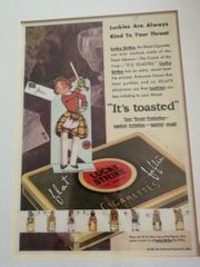 Lucky strike It s toasted