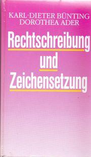 Rechtschreibung und Zeichensetzung Schreibkunde für
