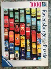 Puzzle Autos Ravensburger 1000 Teile