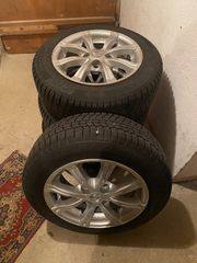 4 Winterreifen 175 45 Mazda