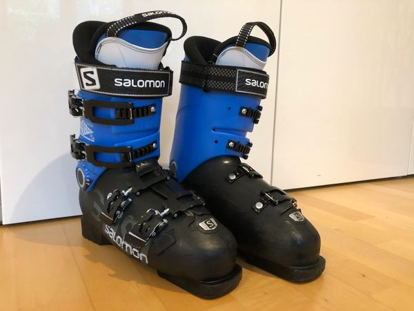 Skistiefel Salomon GHOST schwarz-blau Gr