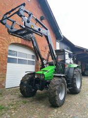 Landwirtschaft Traktor Deutz AgroXtra 4