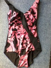 Vintage - Badeanzug - Damen - Markenlos - Mehrfarbig -
