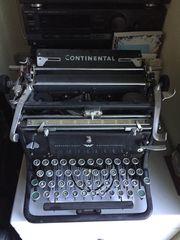 Continental Schreibmaschine Vintage schreibt