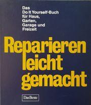 2 Bücher zum Reparieren Renovieren
