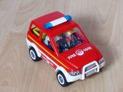 Playmobile Feuerwehr Einsatzleitwagen