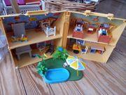 Haus plus Swimmingpool von Playmobil