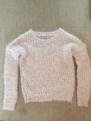 Pullover Strick Mädchen Gr 140