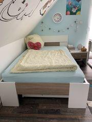 Jugendzimmer Kombination Bett inkl Bettkasten