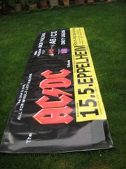 AC DC Tribute Banner