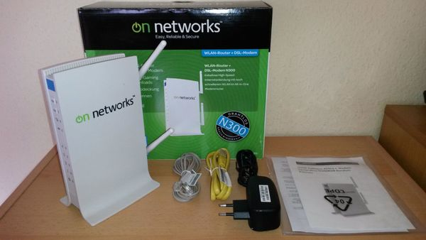 On-Networks N-300RMB - Wlan-Router DSL Modem