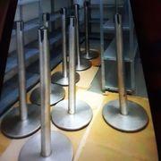 Abspeerpfosten mit Band 8 Stück