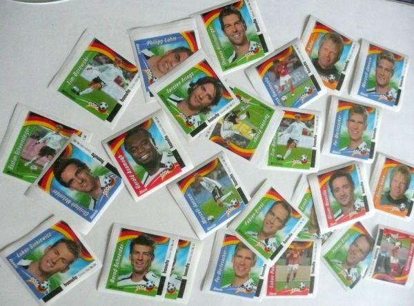 Sammelbilder WM 2006 von Hanuta