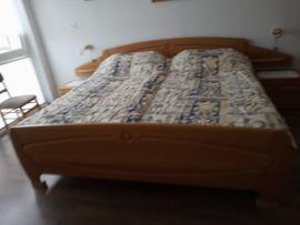 Bild 4 - Doppelschlafzimmer Eiche hell teilmassiv - Landscheid