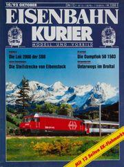 Eisenbahn Kurier-Modell und Vorbild 10