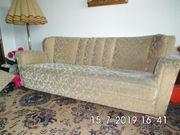 50er Wohnzimmer 3er Sofa Couch