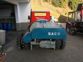 Traktoren, Landwirtschaftliche Fahrzeuge - Miststreuer Saco 120SH