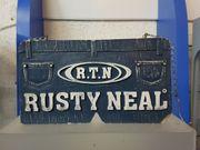 Rusty Neal Werbeschild aus Gips