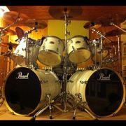 Rock-Schlagzeuger Drummer 50J Timing fest