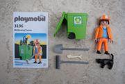 Playmobil Müllmann Tonne 3196