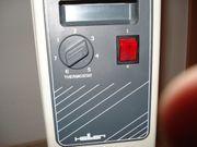 Elektroheizung 9 Rippen 2000WATT Thermostatgereegelt