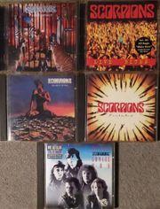 Scorpions - 5 CDs