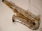 Yanagisawa Alt Saxophon A99337 silber