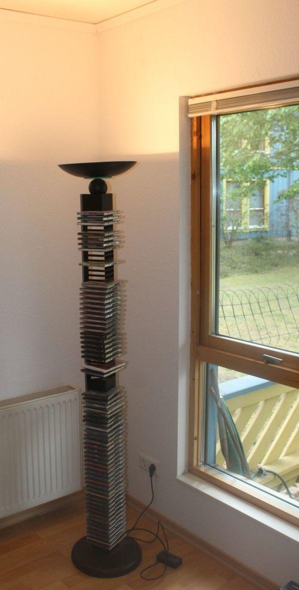 Deckenfluter CD-Turm in Einem Deckenstrahler