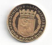 Goldmedaille Berliner Dukat 986 Gold