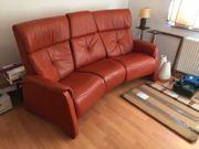 Himolla Echtleder Relax Couch Sofa