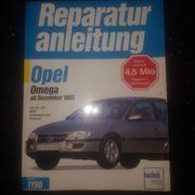 Reparaturanleitung Opel Omega B wie