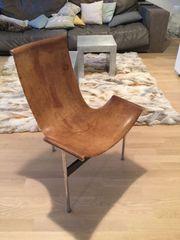 Designer Stühle Leder Stahl