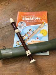 Flöte Blockflöte mit CD und